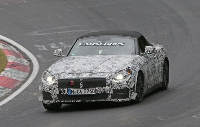 Mẫu xe kế nhiệm BMW Z4 trên đường chạy thử - 4
