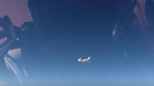 Máy bay Nga tham gia chiến dịch tấn công khủng bố tại Syria (Ảnh: Bộ Quốc phòng Nga)