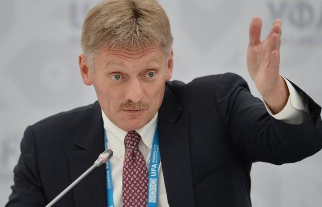 Phát ngôn viên Điện Kremlin Dmitry Peskov. (Ảnh: Sputnik)