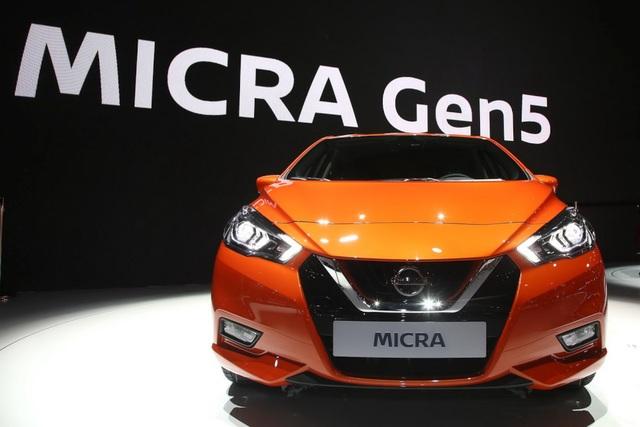 Nissan Micra thay đổi diện mạo - 1