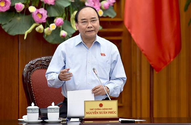 Thủ tướng Nguyễn Xuân Phúc nhấn mạnh, tỉnh nào gặp khó khăn mà chùn bước, không đủ ý chí sẽ không thể thành công.