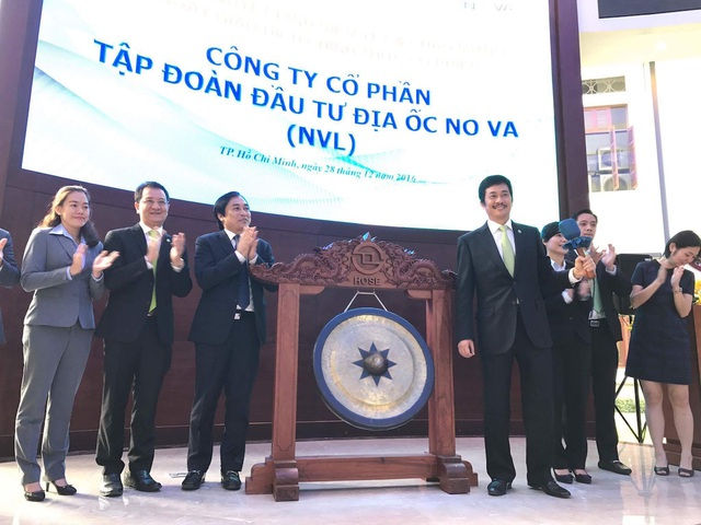 Sáng 28/12, ông lớn của làng bất động sản TPHCM đã chính thức lên sàn