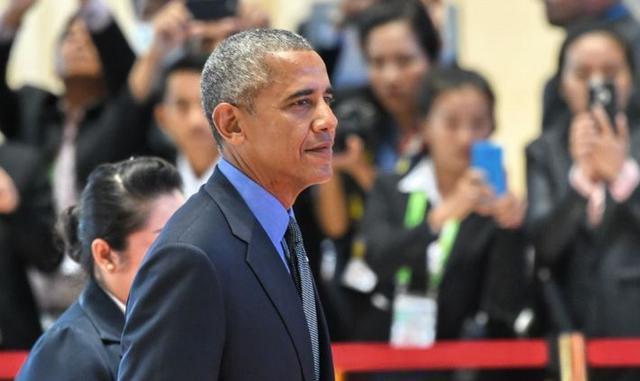 Tổng thống Mỹ Barack Obama tại hội nghị thượng đỉnh ở Lào. (Ảnh: AFP)