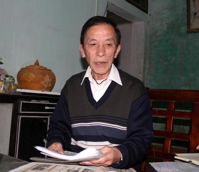 Ông Bùi Tôn Kiêm phải mất gần 30 năm mới đòi được quyền lợi chính đáng của mình.