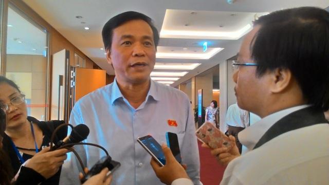 Tổng Thư ký Quốc hội Nguyễn Hạnh Phúc nói về việc xử lý kỷ luật ông Vũ Huy Hoàng (ảnh: H.L)