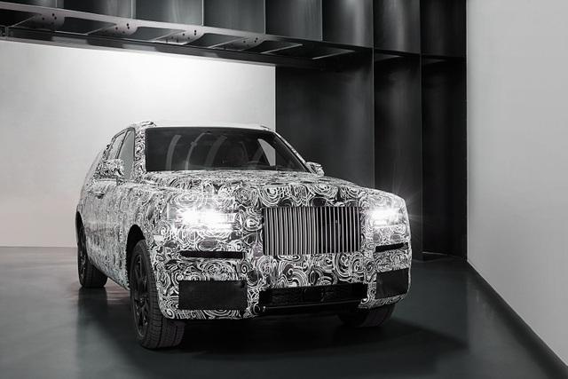 Rolls-Royce hé lộ hình ảnh đầu tiên của Cullinan SUV - 2