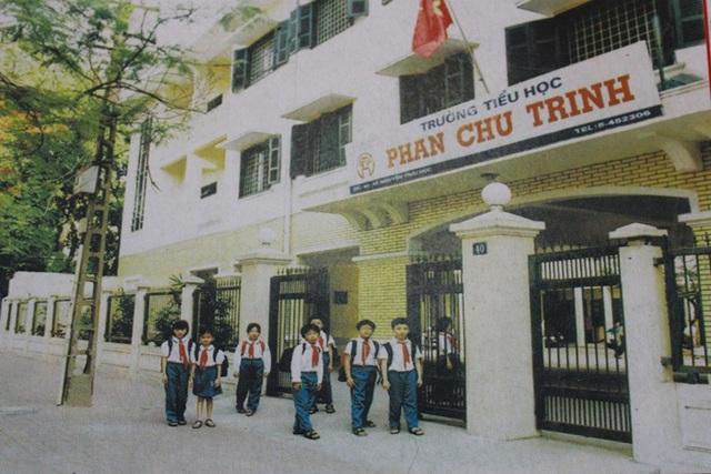 Ngôi trường khang trang