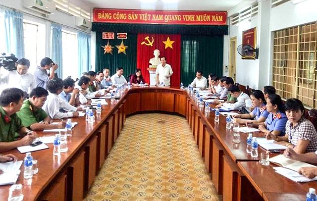 Bộ trưởng Đào Ngọc Dung phát biểu tại cuộc họp với các ban, ngành tỉnh Đồng Nai chiều 7/11 (Ảnh: Vĩnh Thuỷ)