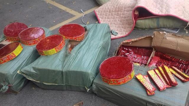 Gần 200kg pháo nổ đã bị công an Lạng Sơn thu giữ chỉ trong 1 ngày