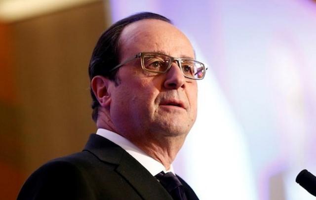 Tổng thống Pháp Francois Hollande. (Ảnh: EPA)