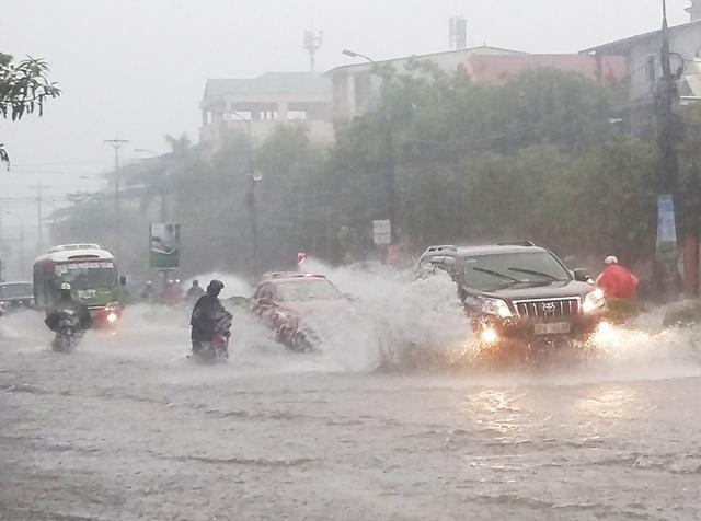 Do ảnh hưởng của cơn bão số 4, Nghệ An có xảy ra mưa vừa, mưa to, có nơi mưa rất to gây ngập úng ở vùng thấp và sạt lở, lũ quét ở khu vực miền núi.