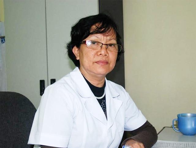 Bác sĩ Nguyễn Thị Kim Cúc.