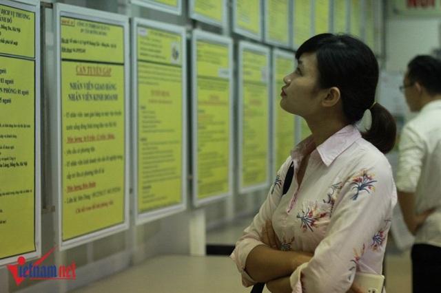Nhiều sinh viên mới ra trường cho rằng tăng tuổi nghỉ hưu ít ảnh hưởng đến cơ hội tìm việc làm. Ảnh Trần Thường
