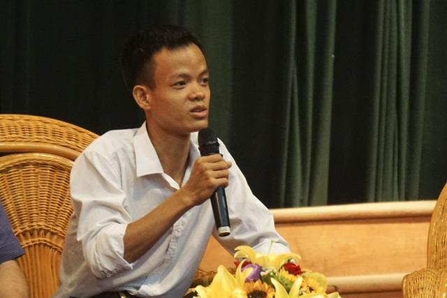 Anh Vũ Quang Trung- Giám đốc Công ty Websosanh cũng trong một dịp chia sẻ những kinh nghiệm đi đến thành công từ giải thưởng NTĐV.
