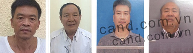Trần Văn Liêm, Trần Văn Khương, Giang Kim Đạt, Giang Văn Hiển.
