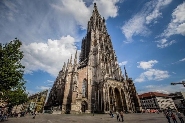 Thánh đường Ulm Minster đã có tuổi đời 639 năm.