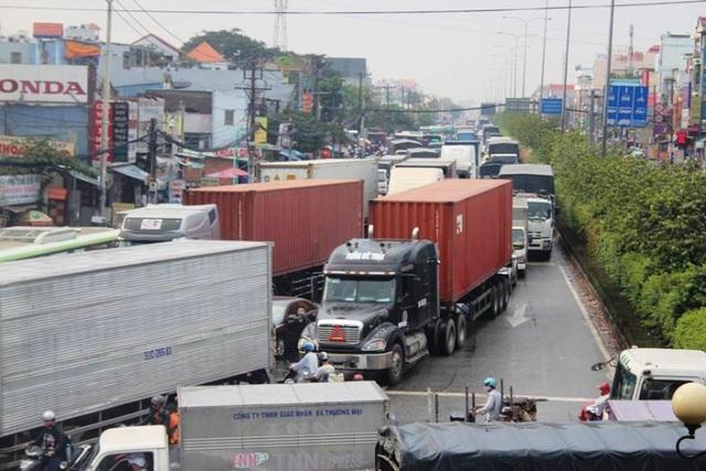 Tuyến quốc lộ 22 dài 58 km nối TPHCM với tỉnh Tây Ninh, đi Campuchia sẽ được nâng cấp, mở rộng