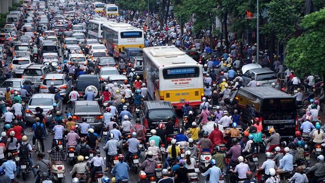 Tình trạng ô nhiễm không khí tại các thành phố lớn đang rất báo động