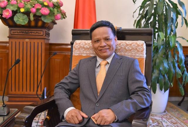 Đại sứ Nguyễn Hồng Thao (Ảnh: Bộ Ngoại giao)