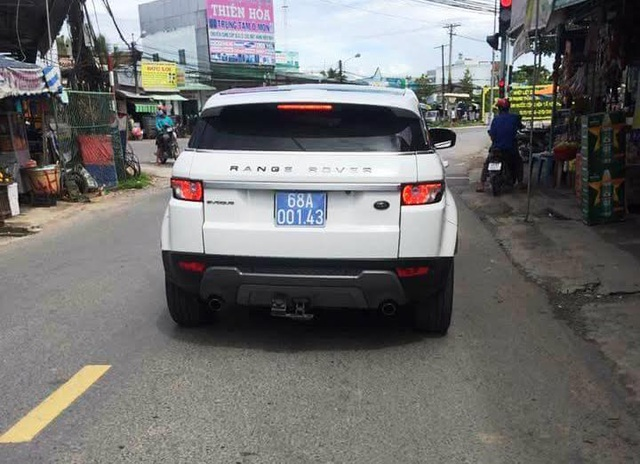 Văn phòng UBND tỉnh Kiên Giang sẽ xin ý kiến lãnh đạo trả ô tô Range Rover Evoque biển xanh 68A.001.43 về cho Công an tỉnh (Ảnh: CTV)