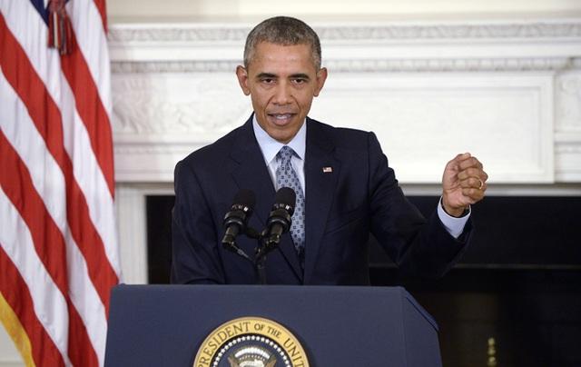 """""""Hoàng hôn nhiệm kỳ"""" của ông Obama - 1"""
