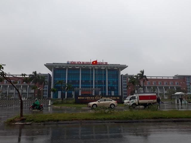Bệnh viện đa khoa tỉnh Quảng Trị, nơi xảy ra sự việc