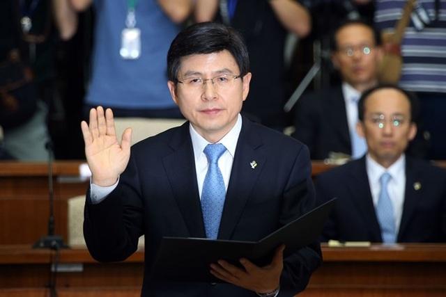 Ông Hwang Kyo-ahn. (Nguồn: The Korea Times)
