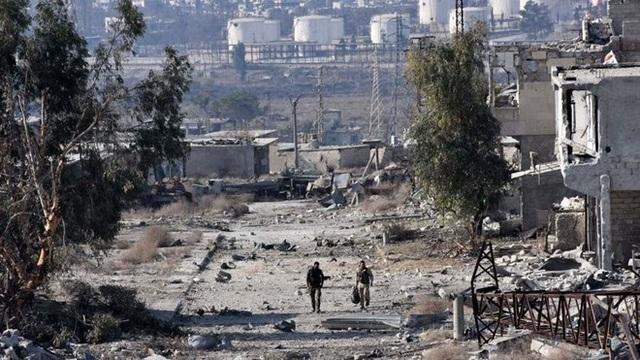 Hình ảnh tan hoang tại Syria. (Nguồn: AFP/Getty Images)