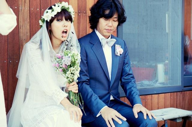 Lee Hyori và chồng