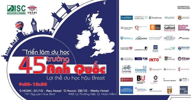 Triển lãm Du học 45 trường Anh Quốc eduFairUK – Lợi thế du học Anh hậu Brexit - 1