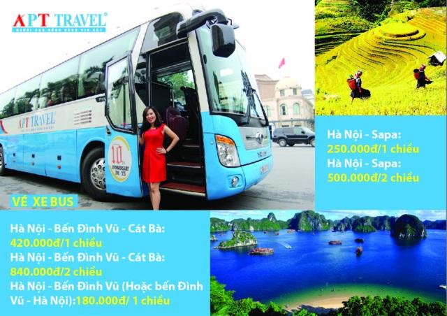 Du lịch Sapa, Cát Bà dễ dàng với xe bus APT Travel chạy hàng ngày - 1