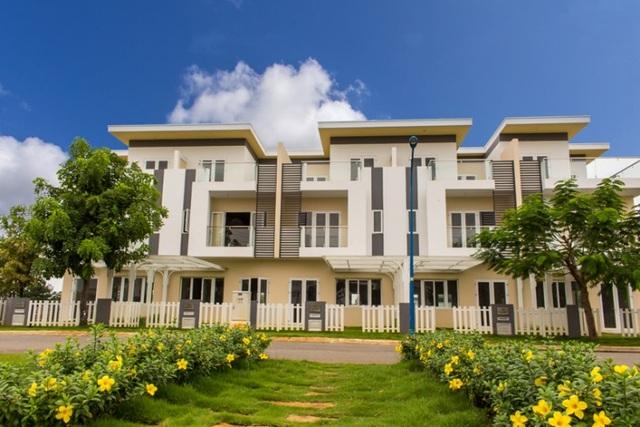 Chất lượng công trình và tiến độ thi công tại Melosa Garden luôn được đảm bảo.