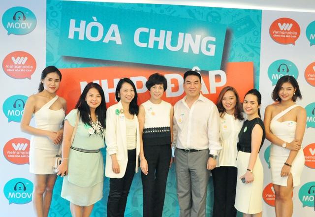 Tập đoàn PCCW và Vietnamobile hợp tác ra mắt ứng dụng âm nhạc MOOV.