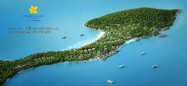 Dự án Condotel Premier Residences Phu Quoc Emerald Bay và Premier Village Phu Quoc Resort được ví như những kiệt tác kiến trúc giữa các kỳ quan thiên nhiên