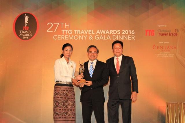 Vietravel lần thứ 5 nhận giải thưởng TTG Travel Awards - 1
