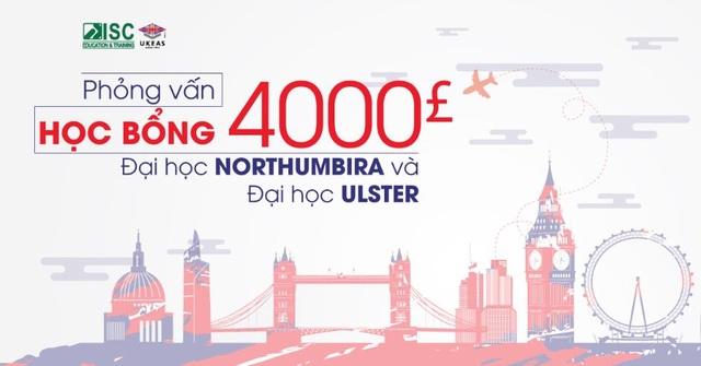 Phỏng vấn học bổng 4000 bảng đại học Northumbira và đại học Ulster - 1