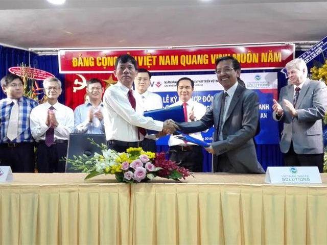 BIDV đã ký kết hợp đồng tài trợ 70% vốn tín dụng giai đoạn I cho dự án, tương đương 148 triệu USD