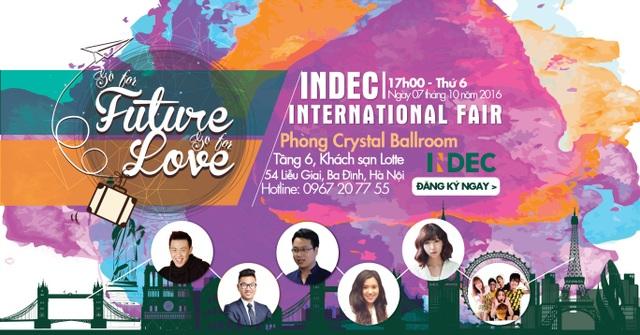 Triển lãm Du học Quốc tế INDEC hội tụ gần 100 Trường Đại học chất lượng hàng đầu Thế giới - 1
