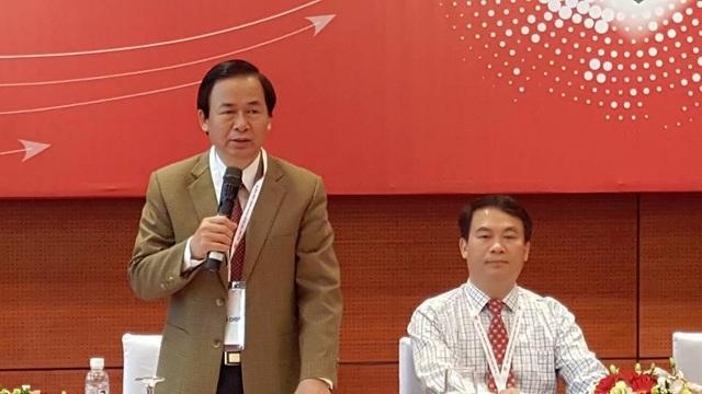 GS.TS Nguyễn Lân Việt khuyến cáo người dân có lối sống lành mạnh để phòng bệnh tim mạch. Ảnh: H.Hải