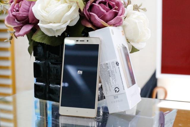 Xiaomi Redmi 3s được thiết kế sang trọng đẳng cấp