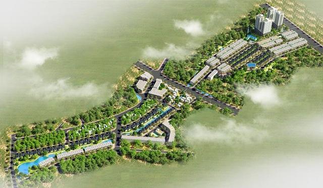 Phối cảnh tổng quan dự án Sky Garden