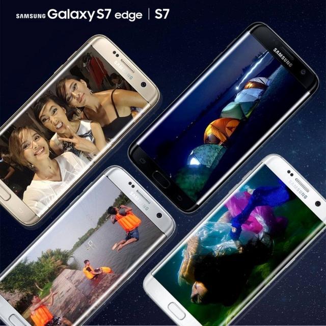 Galaxy S7/S7 edge phá vỡ nhiều kỷ lục về mặt doanh số của Samsung.