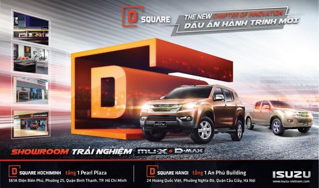 Isuzu Việt Nam đưa mu-X và D-MAX đến gần khách hàng hơn - 1
