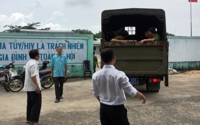Lực lượng Công an, dân phòng và người dân đã phối hợp, tìm và đưa trở lại Trung tâm cai nghiện Xuân Phú nhiều học viên trốn trại.