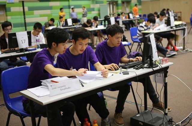 Sinh viên châu Á trong cuộc thi lập trình quốc tế ACM