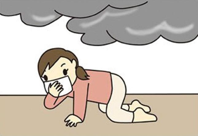 Mẹ nên hướng dẫn cho trẻ những kỹ năng cơ bản khi gặp hỏa hoạn