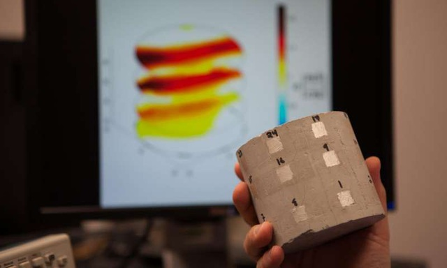 Công nghệ mới để theo dõi phát hiện sớm sự cố trong kết cấu bê tông - 1