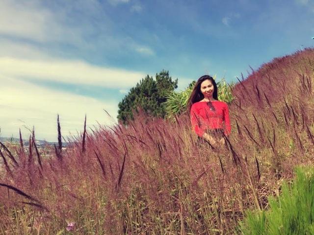 Đồi cỏ hồng mang vẻ đẹp yên bình và lãng mạn- là một trong những cảnh đẹp ở Đà Lạt.