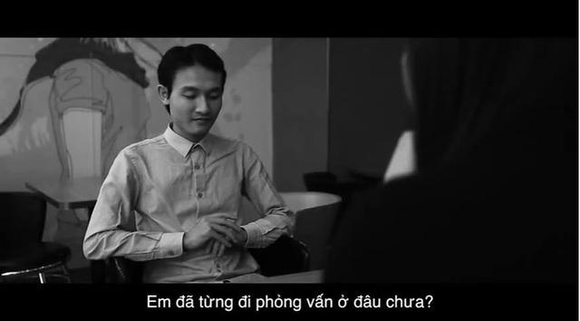 Hoàng Đình Quang trong buổi phỏng vấn