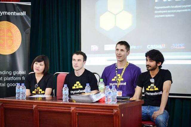 Phong trào khởi nghiệp của Việt Nam được đánh giá là có thuận lợi lớn nhờ sự hỗ trợ của nhiều Bộ, ngành. Ảnh: Techfest